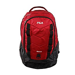 FILA Deacon IV Laptop and Tablet Backpack in Red