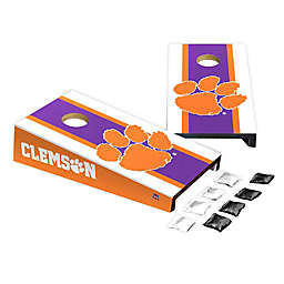 Clemson University Desktop Cornhole Bag Toss Set