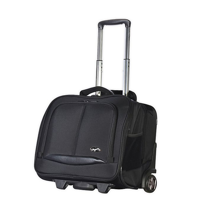 Alternate image 1 for Olympia® USA Executive 14-Inch Rolling Briefcase in Black