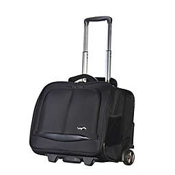 Olympia® USA Executive 14-Inch Rolling Briefcase in Black
