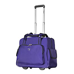Olympia® USA Fashion 14-Inch Carry On Luggage in Purple