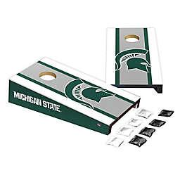 Michigan State University Desktop Cornhole Bag Toss Set