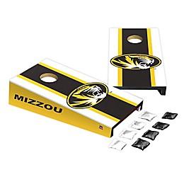 University of Missouri Desktop Cornhole Bag Toss Set