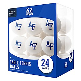 United State Air Force Academy 24-Count Table Tennis Balls