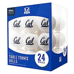 University of California-Berkeley 24-Count Table Tennis Balls