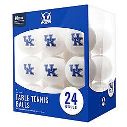 University of Kentucky 24-Count Table Tennis Balls