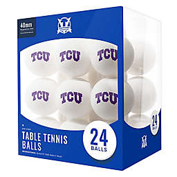Texas Christian University 24-Count Table Tennis Balls