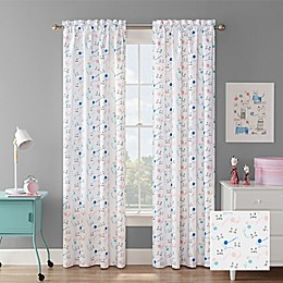 Waverly® Incatnito Rod Pocket Room Darkening Window Curtain Panel