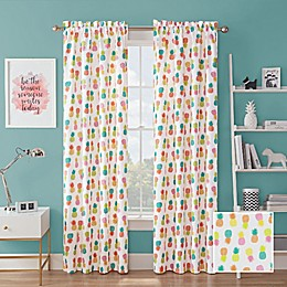 Waverly® Fineapple Rod Pocket Room Darkening Window Curtain Panel