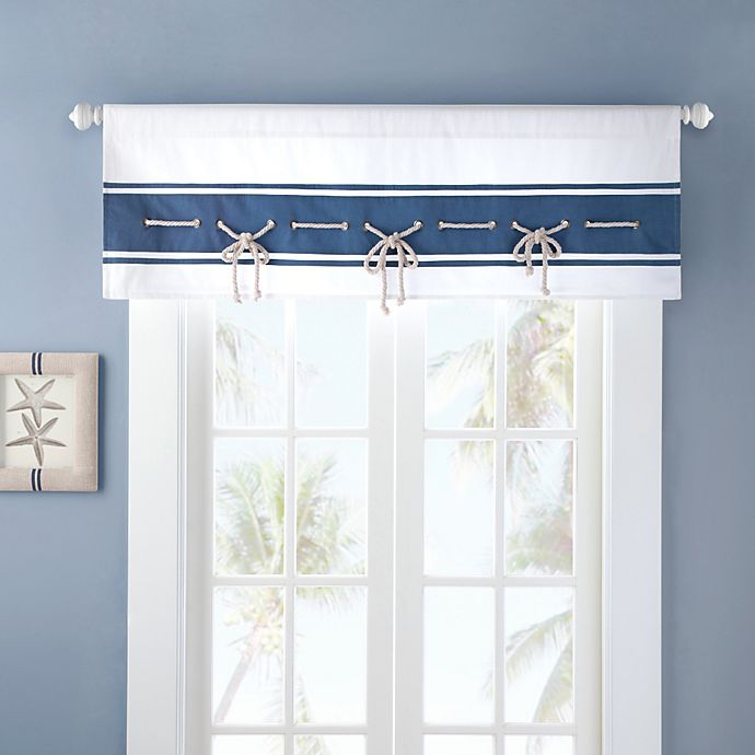 Alternate image 1 for Harbor House™ Sailor Window Valance