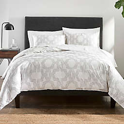 Under The Canopy® Links 3-Piece Organic Cotton Comforter Set in Grey