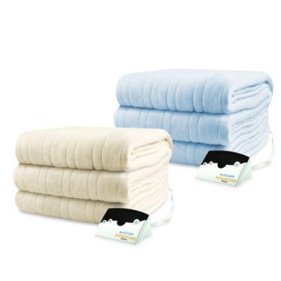 Biddeford Blankets Comfort Knit Heated Blanket Bed Bath Beyond