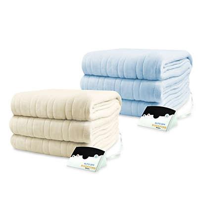 Biddeford Blankets® Comfort Knit Heated Blanket