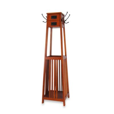 Standing Coat Rack With Storage Space Bed Bath Amp Beyond