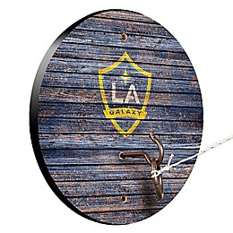 MLS Los Angeles Galaxy Weathered Hook & Ring Toss Game