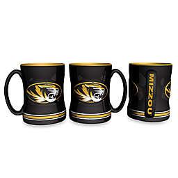 University of Missouri 15-Ounce Sculpted Coffee Mug