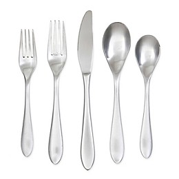 Cambridge® Silversmiths Basil 60-Piece Stainless Steel Flatware Set in Silver