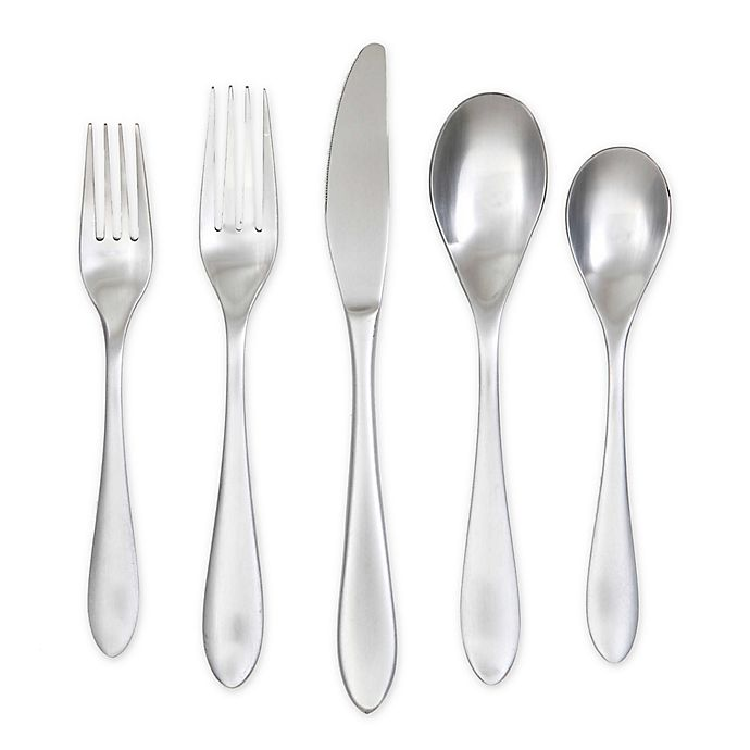 Alternate image 1 for Cambridge® Silversmiths Basil 60-Piece Stainless Steel Flatware Set in Silver