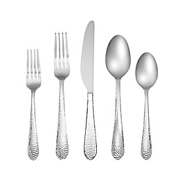 Cambridge® Silversmiths Moriah 60-Piece Stainless Steel Flatware Set in Silver