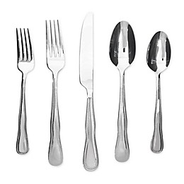 Cambridge® Silversmiths Montville 60-Piece Stainless Steel Flatware Set in Silver