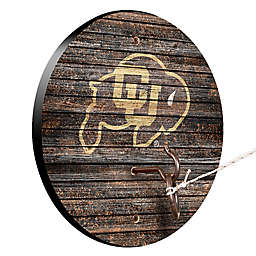 University of Colorado Weathered Hook & Ring Toss Game