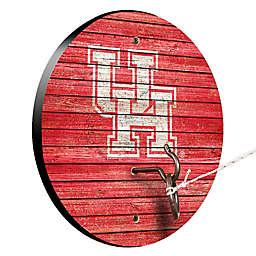 University of Houston Weathered Hook & Ring Toss Game