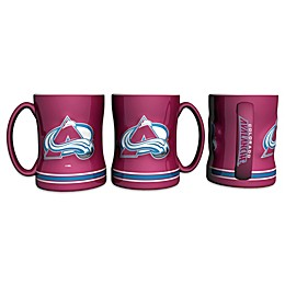 NHL Colorado Avalanche Sculpted Relief Mug