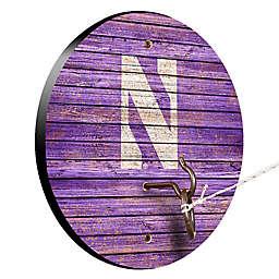 Northwestern University Weathered Hook & Ring Toss Game