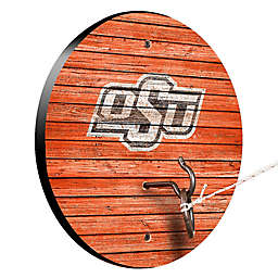 Oklahoma State University Weathered Hook & Ring Toss Game