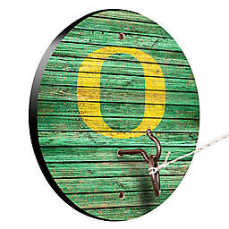 University of Oregon Weathered Hook & Ring Toss Game