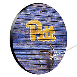 University of Pittsburgh Weathered Hook & Ring Toss Game