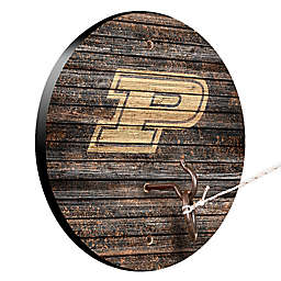 Purdue University Weathered Hook & Ring Toss Game