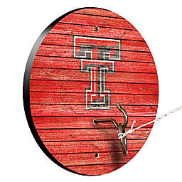 Texas Tech University Weathered Hook & Ring Toss Game