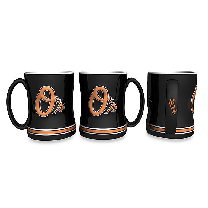 Alternate image 1 for MLB Baltimore Orioles Sculpted Relief Mug