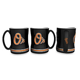 MLB Baltimore Orioles Sculpted Relief Mug