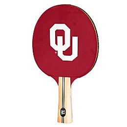 University of Oklahoma Table Tennis Paddle