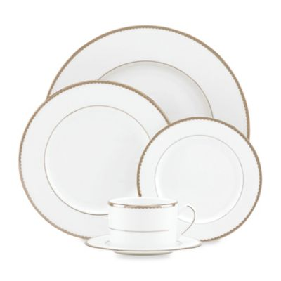 Merveilleux Kate Spade New York Sugar Pointe™ Dinnerware Collection | Bed Bath U0026 Beyond