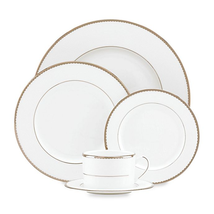 Alternate image 1 for kate spade new york Sugar Pointe™ Dinnerware Collection