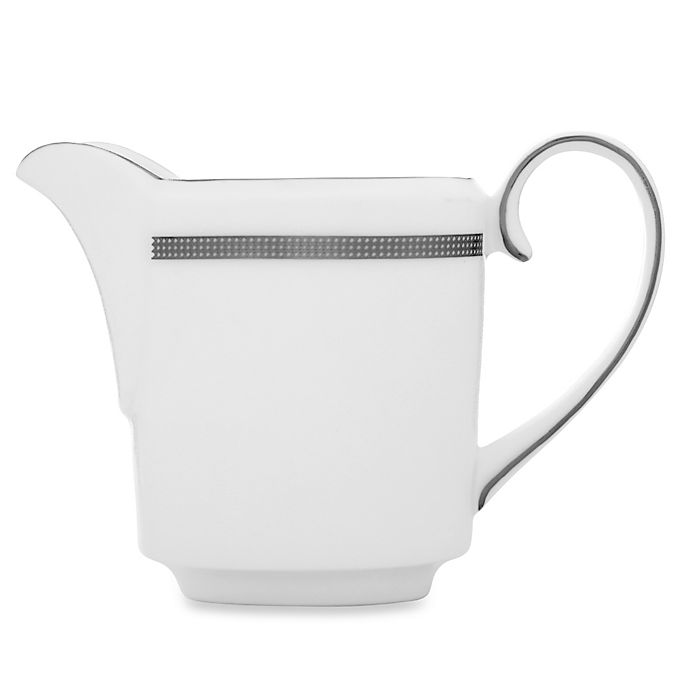 Alternate image 1 for Vera Wang Wedgwood® Vera Infinity 6.5-Ounce Creamer Imperial