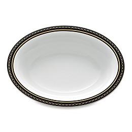 Vera Wang Wedgwood® With Love Noir Oval Open Vegetable Bowl