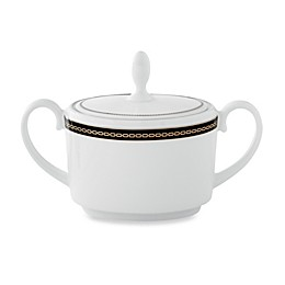 Vera Wang Wedgwood® With Love Noir Sugar Bowl