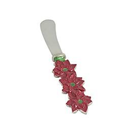 Julia Knight® Poinsettia Spreaders in Pomegranate (Set of 4)