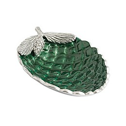 Julia Knight® Luxe Lodge Pine Cone 11-Inch Bowl in Emerald