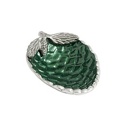 Julia Knight® Luxe Lodge Pine Cone Petite Bowl in Emerald