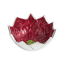 Julia Knight® Poinsettia 5-Inch Bowl in Pomegranate