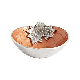Julia Knight® Luxe Lodge Pumpkin 7.5-Inch Bowl in Spice