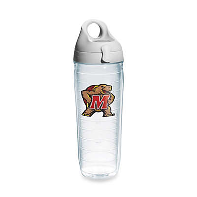 Tervis® University of Maryland Terrapins 24-Ounce Emblem Water Bottle with Lid