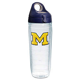 Tervis® University of Michigan Wolverines 24-Ounce Emblem Water Bottle with Lid