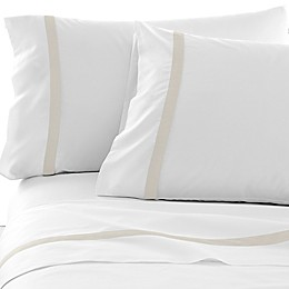 Under The Canopy® Hotel Border 300-Thread-Count Pillowcases (Set of 2)