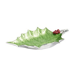 Julia Knight® Holly Sprig 17-Inch Bowl in Mojito